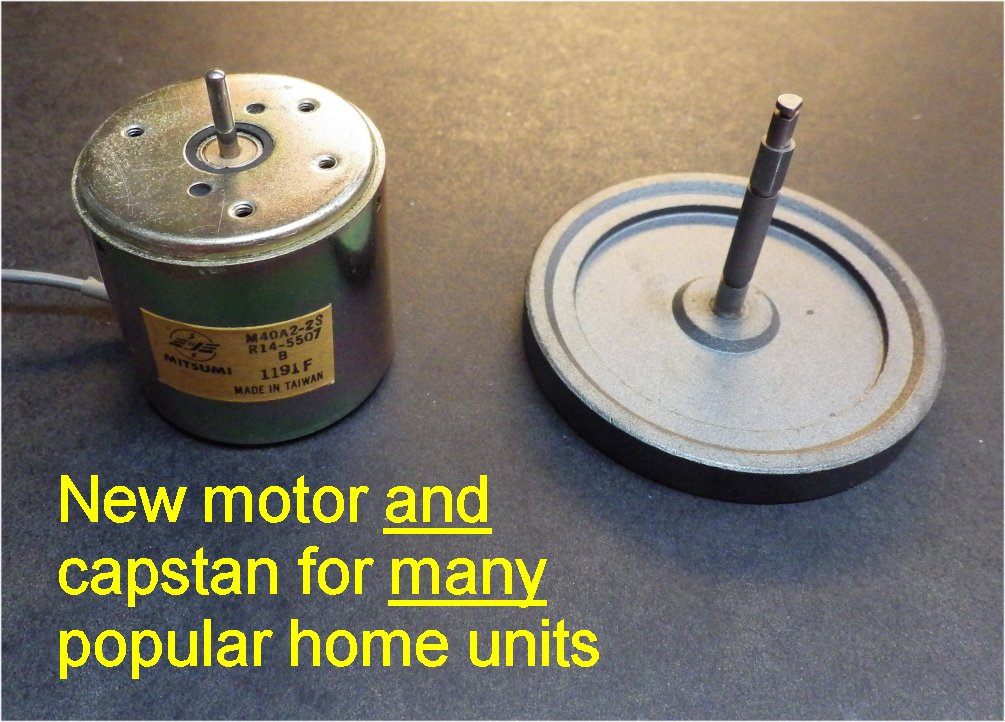 Barry 39 S 8 Track Repair New Tape Deck Motors For 8 Track